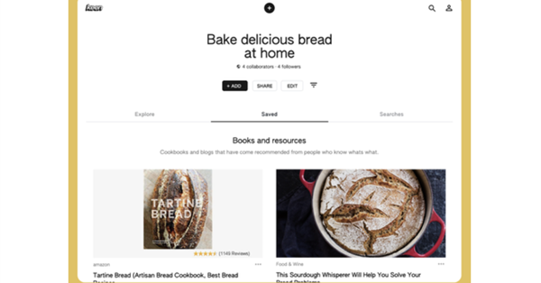 Google has released a new app for Pinterest type - Keen