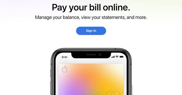 Пользователи Apple Cards получили возможность оплачивать счета онлайн