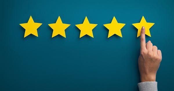 Google тестирует звёздочные рейтинги с одной звездой