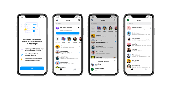 The Facebook Messenger now can respond to customer messages