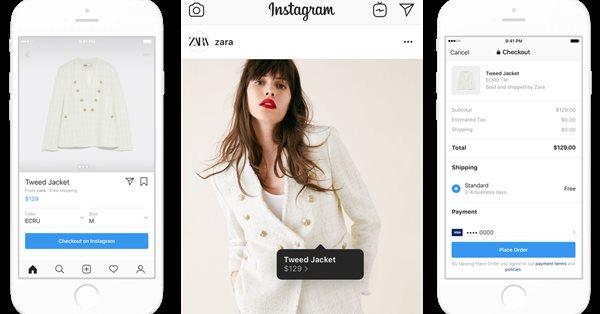 Instagram расширил доступ к сервису Shopping