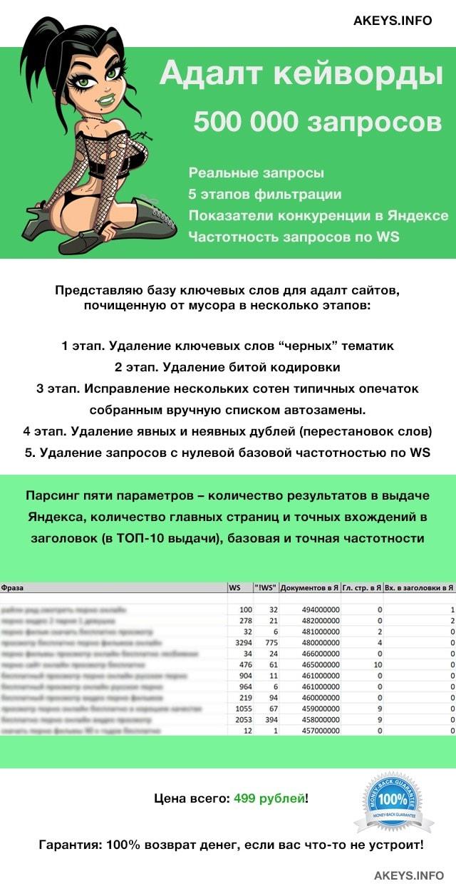 Прогон адалт сайта сайт компании впик
